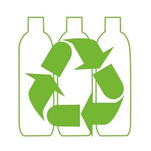 Shoppers from plastic bottles